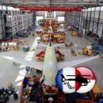 Airbus заполняет парковку самолётами без двигателей